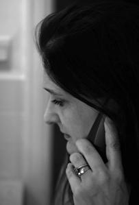 Lisa on the Telephone by TempusVolat via Flickr