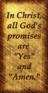 God's promises are yes and amen
