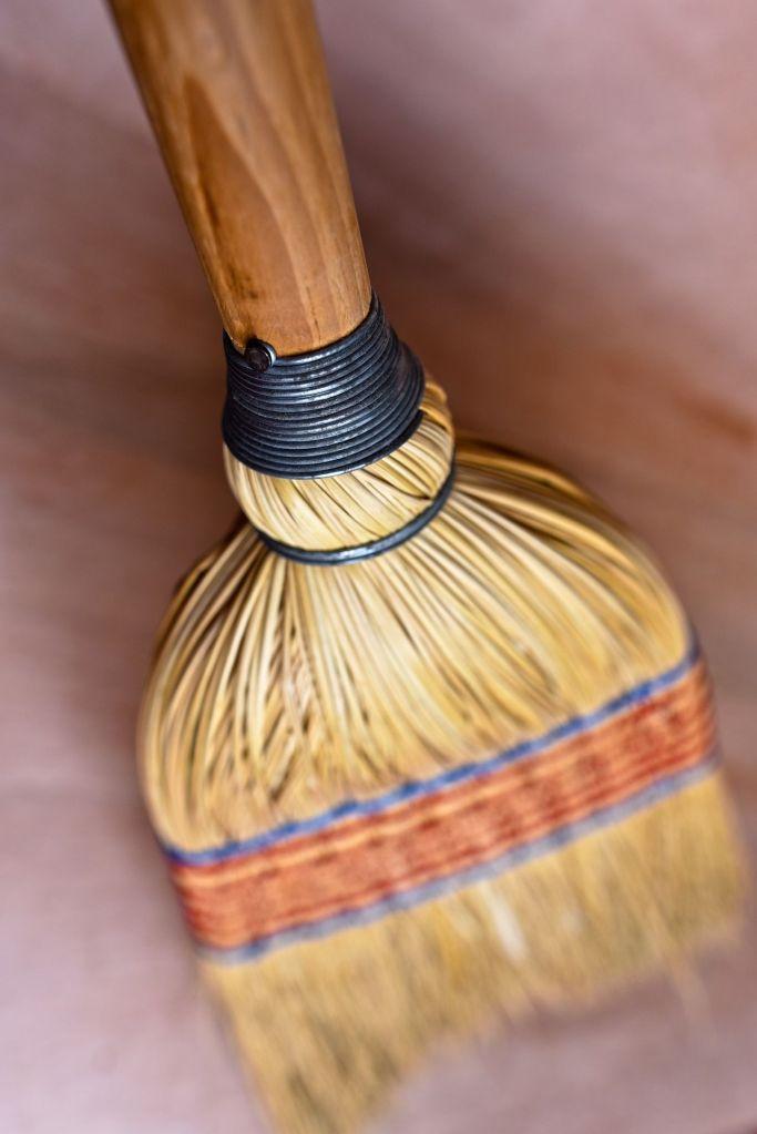sweeping broom